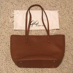 Gigi New York mini taylor leather tote